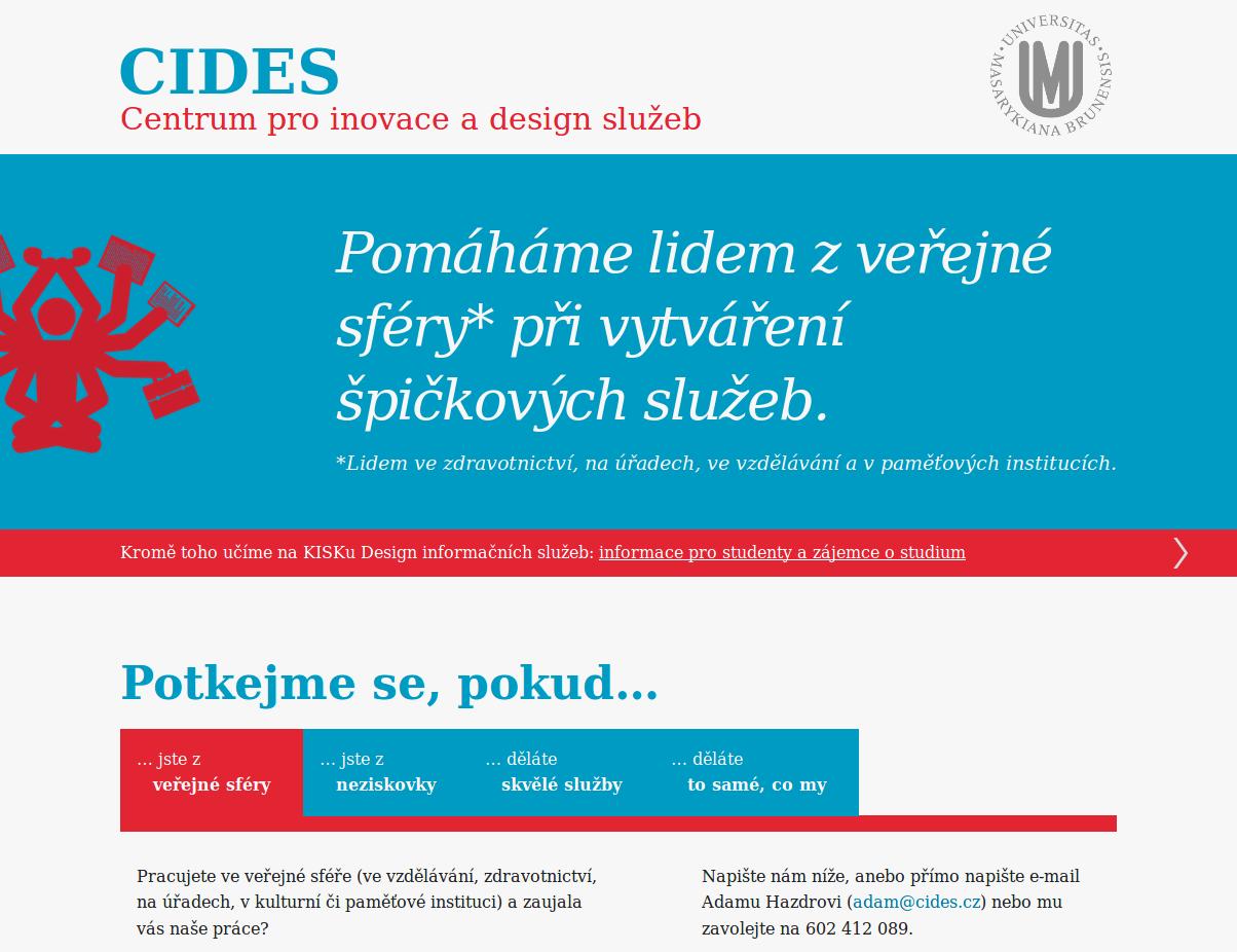 CIDES – Centrum pro inovace a design služeb