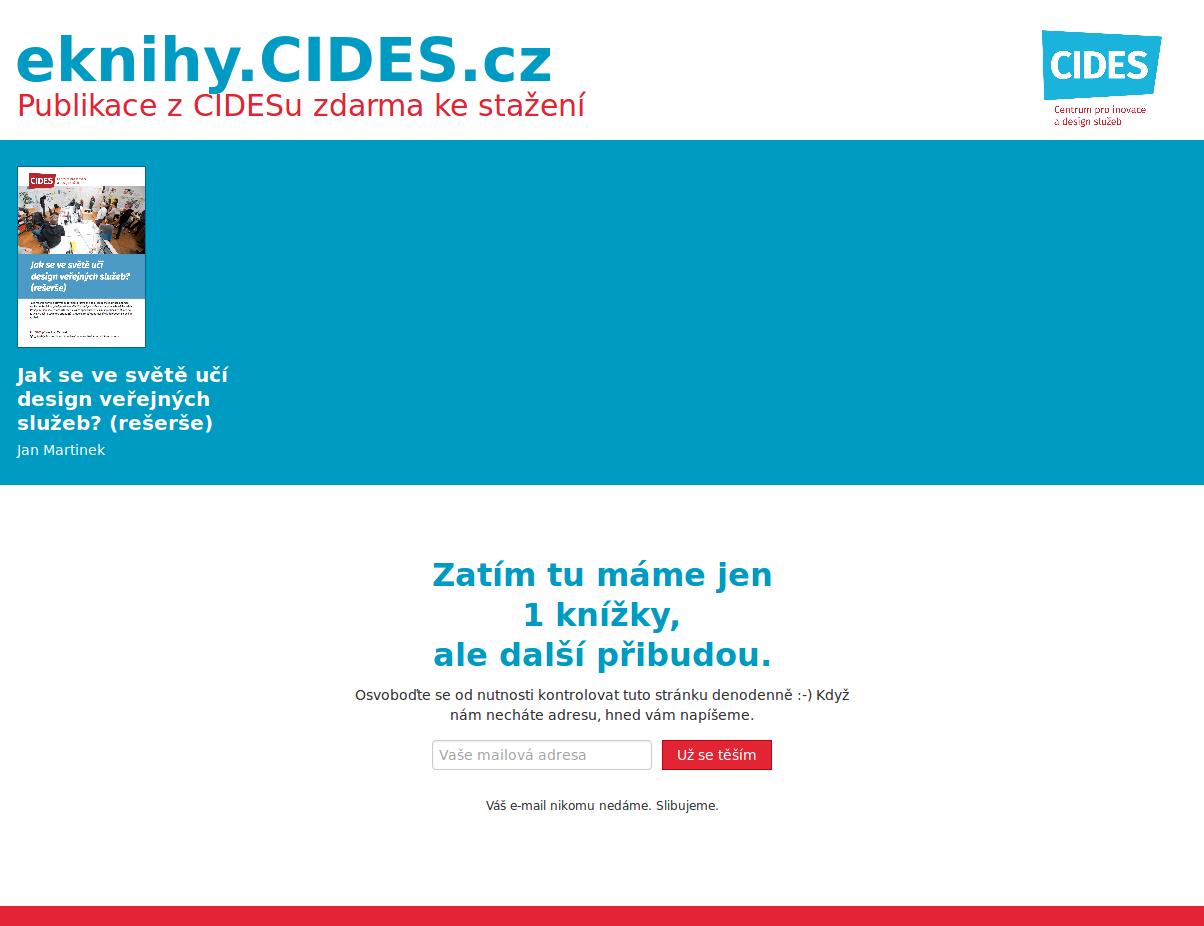 Eknihy CIDES